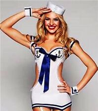 Victoria's Secret Sexy Little Things Fantasy Large L Sailor costume lingerie set