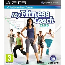 New: My Fitness Coach Club Exercise Workout Game for PS3 (PS Move required)