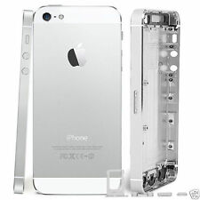 BRAND NEW IPHONE 5 REPLACEMENT BACK REAR HOUSING BATTERY COVER WHITE SILVER