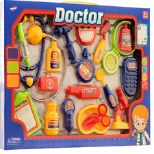 Children Kids Doctor Medical Play Set Kit Education Role Play Toy Birthday gift