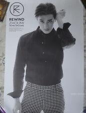 Zhou Mi Mini Album Vol.1 Rewind Taiwan Promo Poster (Super Junior-M ZhouMi)