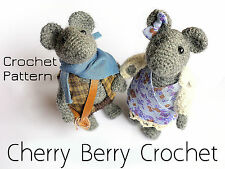 Maice Couple amigurumi toy Crochet Pattern