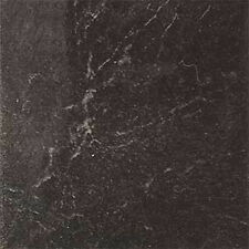 Black Marble Vinyl Floor Tiles 40 Pcs Adhesive Flooring - Actual 12'' x 12''