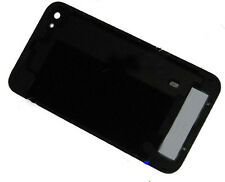 For iPhone 4 4G Replacement Glass Back Battery Cover Plate Housing Frame Black