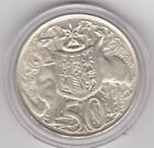 """1966 SILVER ROUND FIFTY Cent """" 50c """" In a Special capsule Very Nice CONDITION"""