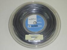 * Nuovo * Luxilon Alu Power Rough 1.25mm TENNIS saitenset 12m String BIG SILVER NEW