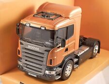 SCANIA R470 in Dark Orange Metallic 1/32 scale model by WELLY