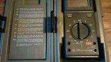 Fluke 25 Multimeter - ABS Hard Case - Fluke 25 27 Operators Manual -