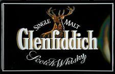 GLENFIDDICH LOGO Vintage Metal Pub Sign   3D Embossed Steel   Home Bar