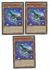 X3 YUGIOH PERFORMAPAL SWORD FISH DUEA-EN007 COMMON IN HAND 1ST
