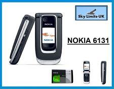 La nueva condición Nokia 6131-Negro (desbloqueado) teléfono móvil (33606) Flip Fold