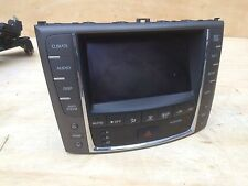 LEXUS 09-13 IS250 IS350 NAVIGATION DISPLAY TOUCH SCREEN MONITOR GPS 86805-53240