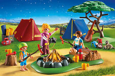 PLAYMOBIL® 6888 Camp Site with LED Fire - NEW 2016 - S&H FREE WORLDWIDE