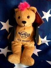 HRC Hard Rock Cafe Las Vegas Punk Bear Mohawk 2011 Pink Hair Herrington