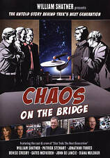 William Shatner Presents - Chaos On The Bridge  DVD NEW