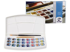 Royal Talens - Van Gogh Watercolour 24 Half Pan Plastic Box Set