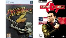 JAGGED ALLIANCE 2 GOLD PACK Inc. Unfinished Business & hammer+sickle  new&sealed