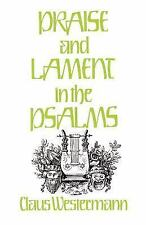 Praise and Lament in the Psalms, Westermann, Claus, Very Good Book