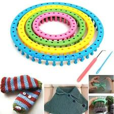 Round Knitting Loom Craft Kit Set Handicrafts Knitwear Sock Scarves Hat Sweater