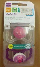 MAM Schnuller Air Latex von reer Inhalt: 2 stk. in rosa 5473
