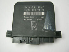MERCEDES-BENZ E CLASS W210 2000-2004 DRIVER SIDE R/H DOOR CONTROL ECU 2108207826