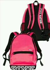 "New Victoria's Secret 2016 PINK NATION College Campus Backpack "" PINK ""  school"