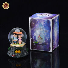 WR Valentine's Day gift Musical Snow Globe Light Snowdome Love Gift crystal ball
