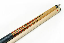 New AB-3 DELTA Ebony Billiard Pool Cue Stick AB3 Custom Inlay Bird's Eye Maple