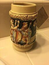 VTG German Beer stein, st. salvatore,Ginnbrinus und St Salvatore
