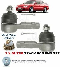 FOR MITSUBISHI EVO 1 2 3  IMPORT 2.0i TURBO 1992-1995 2x OUTER TRACK TIE ROD END