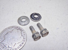 86 KAWASAKI KLF300 MISC FRONT FENDER MUD GUARD MOUNTING BOLTS & CRUSH WASHERS