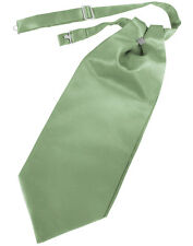 New Mens Satin Cravat Tie Victorian Dickens Cutaway Wedding TUXXMAN All Colors