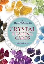Crystal Reading Cards : The Healing Oracle by Rachelle Charman (2016, Kit)