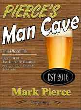 Personalised Pub sign, Home Bar, homebrew, Funny, man cave Free Postage