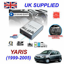 YARIS 1999-2005 MP3 SD USB CD AUX Input Audio Adapter Digital CD Changer Module