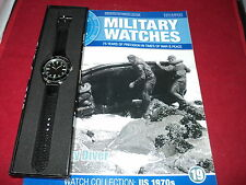 Eaglemoss Military Watches - Issue 19 - US Navy Diver Watch 1970s.