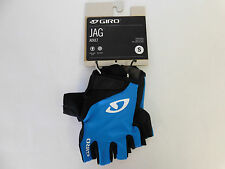 NWT Giro JAG Adult Blue and Black Gloves Size Small