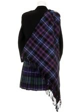New Pride of Scotland Tartan Scottish Purled Fringe Budget Fly Plaid for Kilts