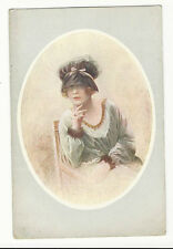 Nos Jolies Artistes, Henri Manuel - Early French Artist Drawn Glamour Postcard