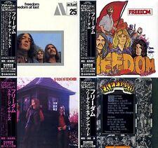 FREEDOM Japan MINI LP 4 CD SET AIRAC-1116~7, AIRAC-1364~5