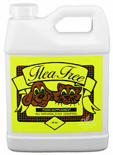 Flea Free Food Supplement 32 oz Natural Dog Cat Pet Flea Mite Preventative