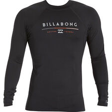 Billabong All Day Long Sleeve Rashguard Top (S) Black