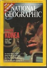 National Geographic July 2003 Divided Korea/Animal Mating Game/China Bronze Age