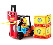Pororo Forklift truck Toy Car Friction gear Characters Children's Kids Gift