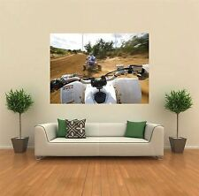 YAMAHA ATV QUAD BIKE NEW GIANT LARGE ART PRINT POSTER PICTURE WALL X1437
