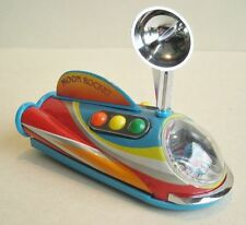 Raumschiff Moon Rocket, Mond Rakete, Blechspielzeug