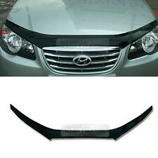 San Black Front Hood Guard Bug Shield  Molding for HYUNDAI 2007-2010 Elantra HD