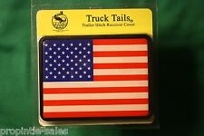 """AMERICAN FLAG  Hitch Cover ~ Draw-tite ~  fits 2"""" Receivers"""