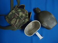 PORTUGAL PORTUGUESE CAMO AFRICA WAR ARMY MILITARY CANTEEN WITH COOK SET COMPLET