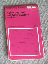 Aylesbury and Leighton Buzzard MAP OS LANDRANGER 165 1:50000